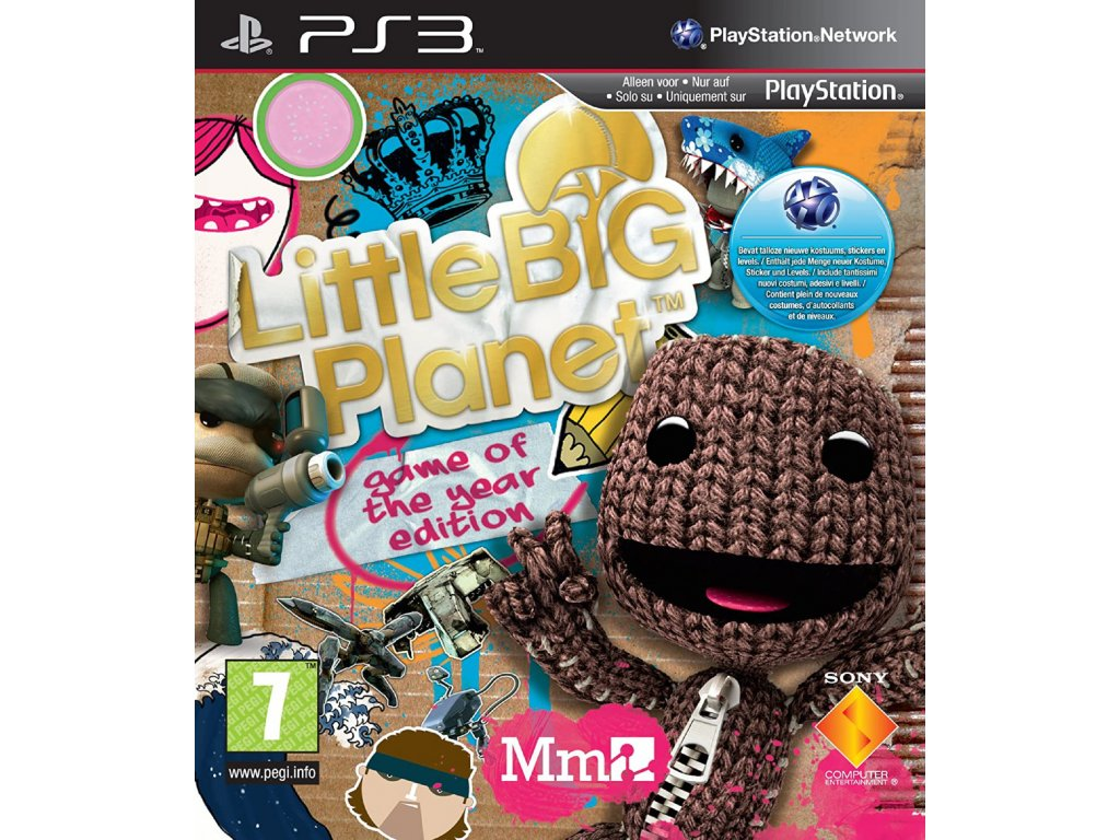 PS3 LittleBigPlanet Game of the Year Edition