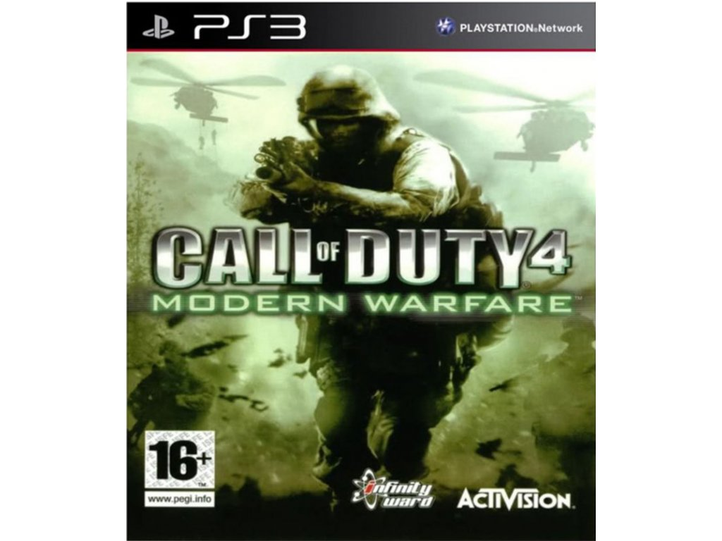 Call of duty Modern Warfare PS3