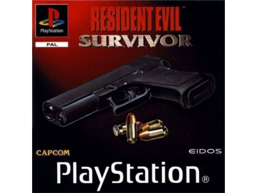 PS1 Resident Evil Survivor