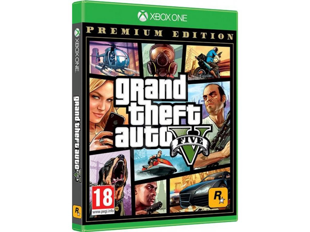 XBOX ONE Grand Theft Auto 5 (GTA V) Premium Online Edition