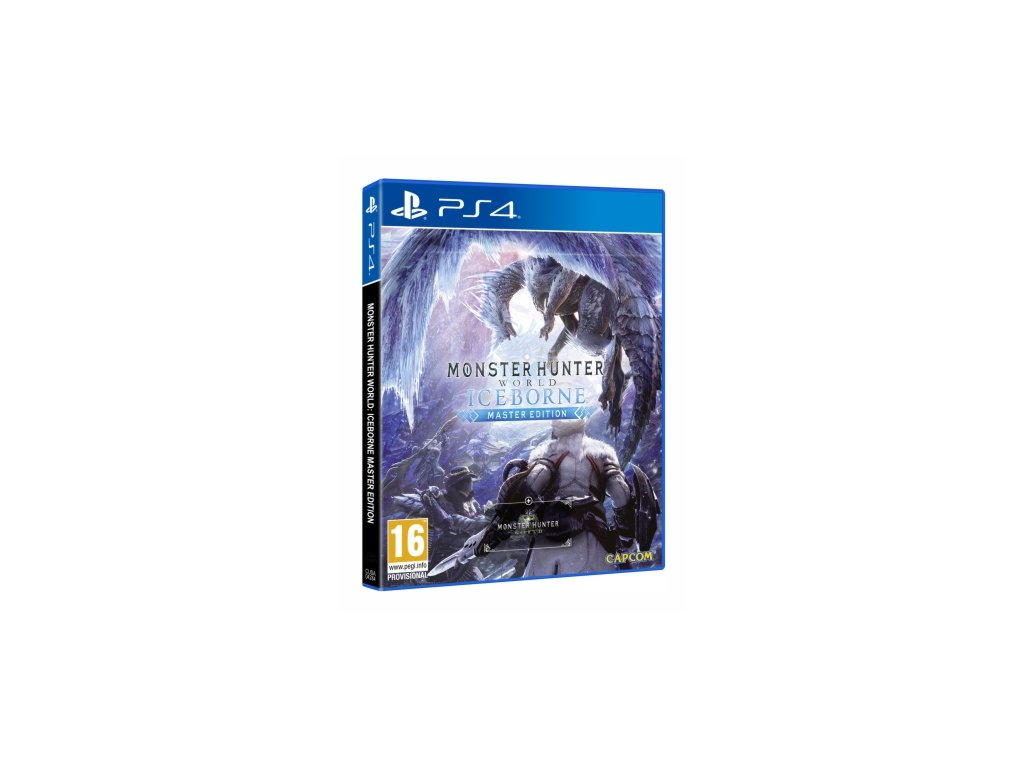 PS4 Monster Hunter World Iceborne Master Edition Steelbook