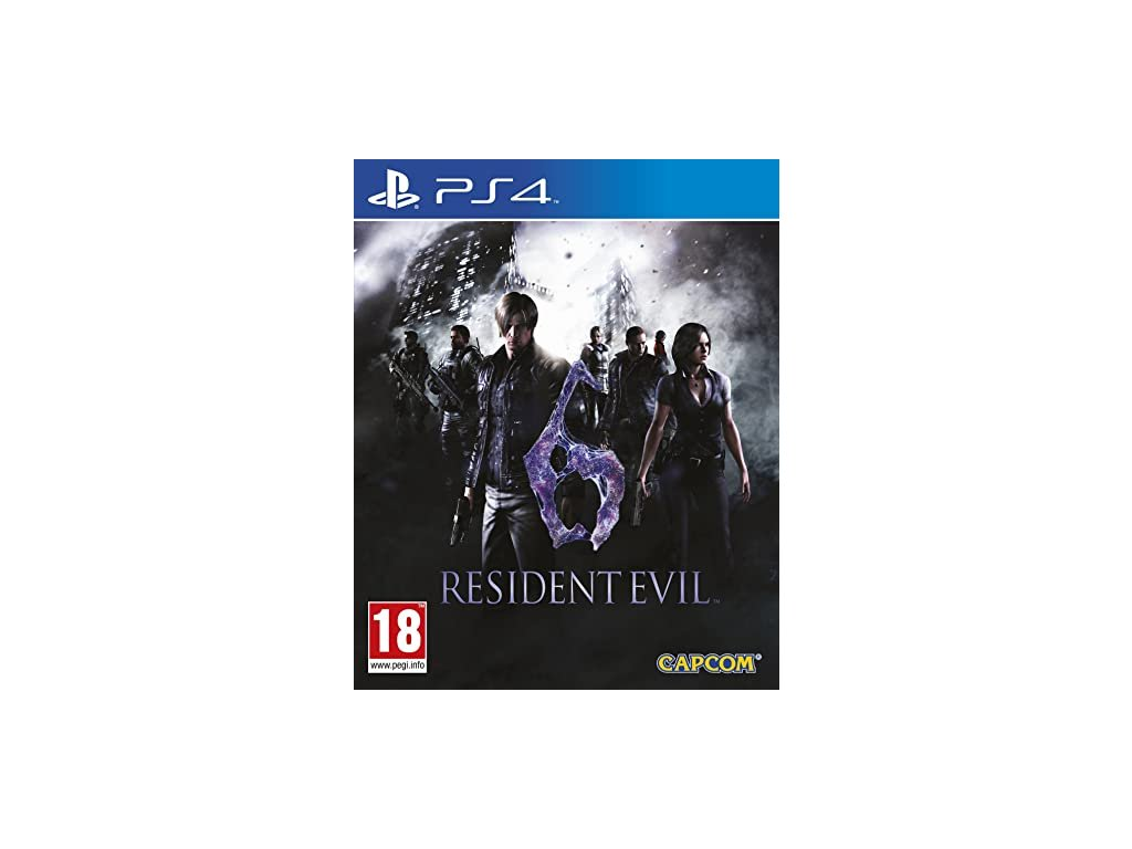 PS4 Resident Evil 6 HD