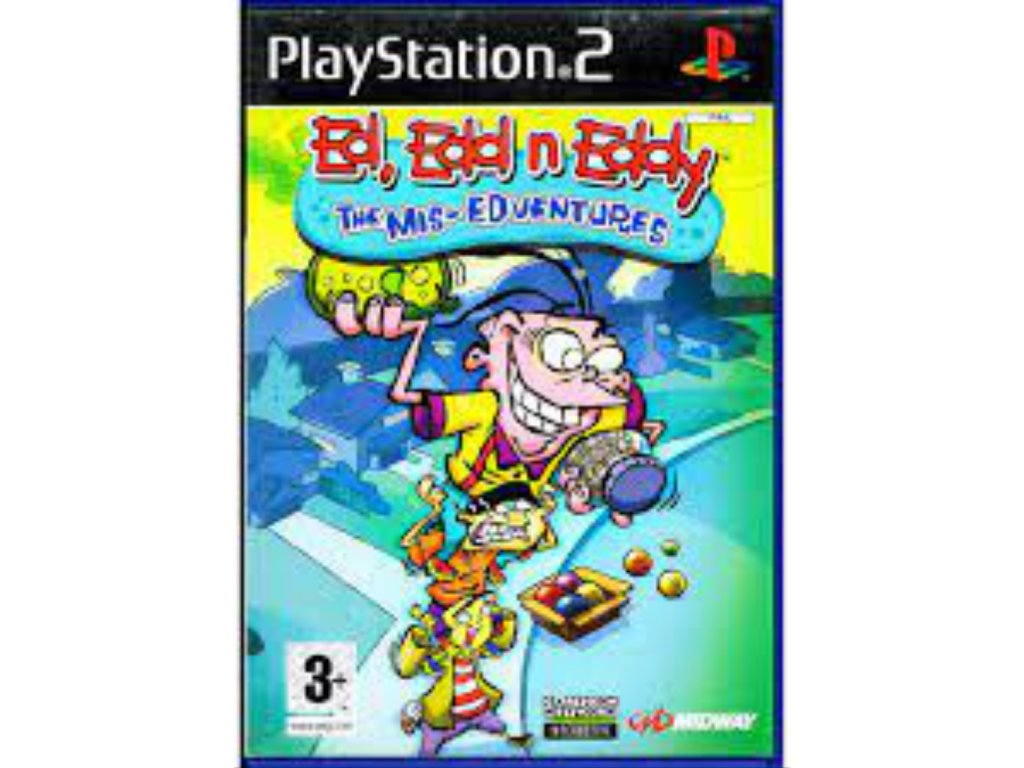 PS2 Ed, Edd n Eddy The Mis Edventures