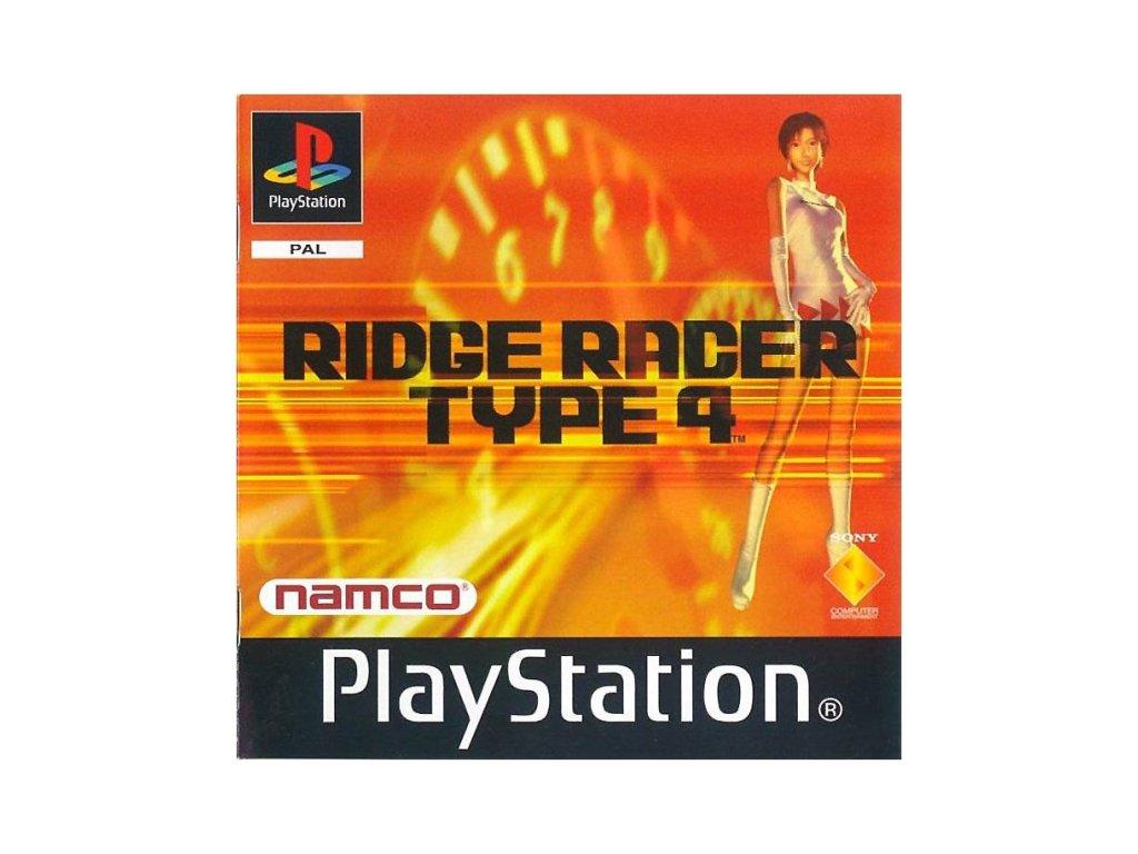 PS1 R4: Ridge Racer Type 4