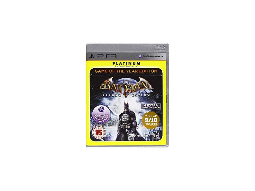 PS3 batman arham asylum goty