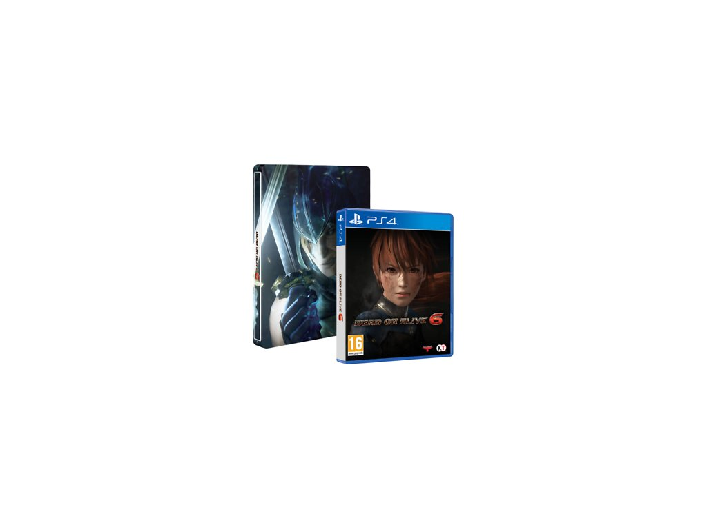 Dead or Alive 6 Steel Book Edition (PS4)