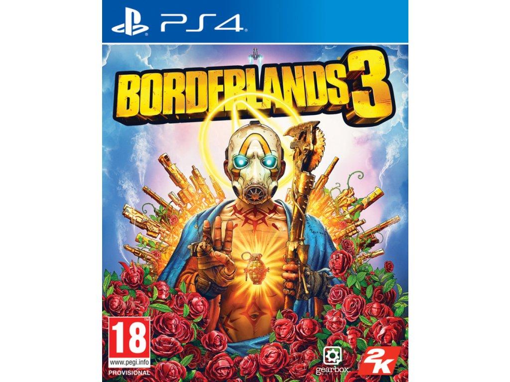 PS4 Borderlands 3 nová