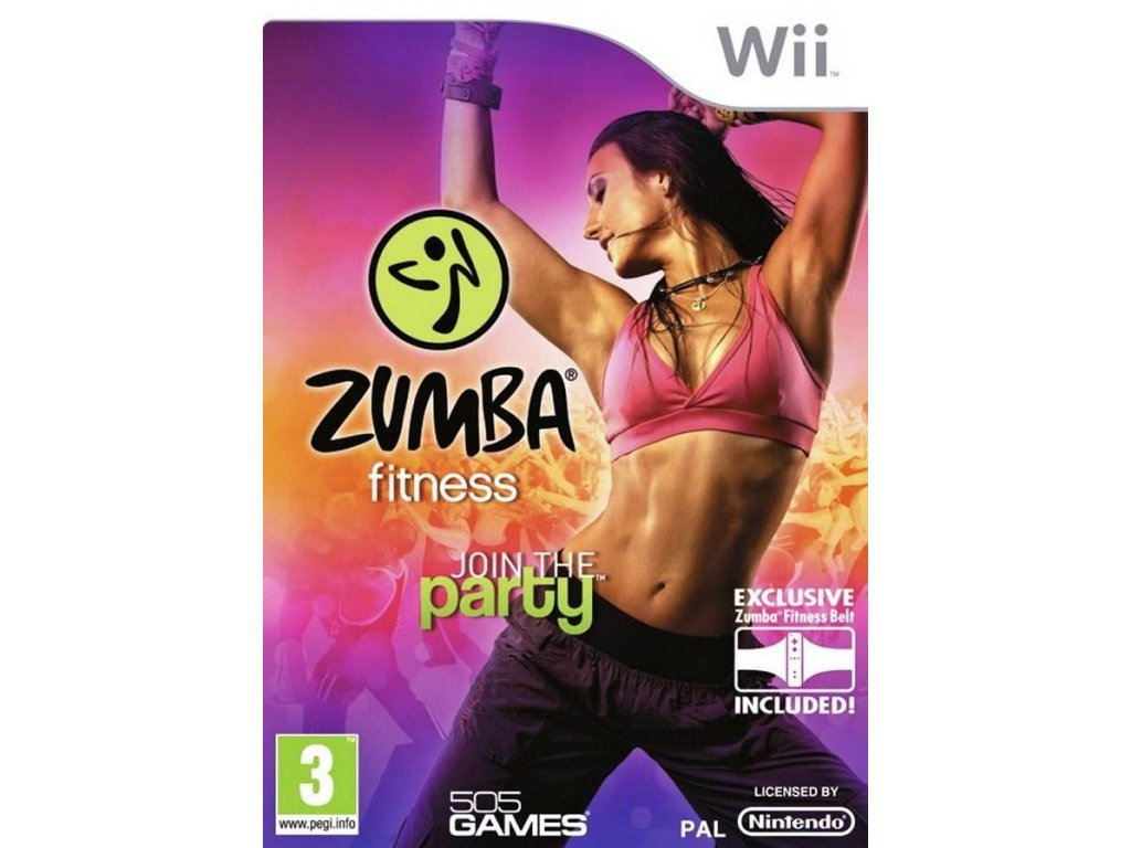 Wii Zumba Fitness Join the Party