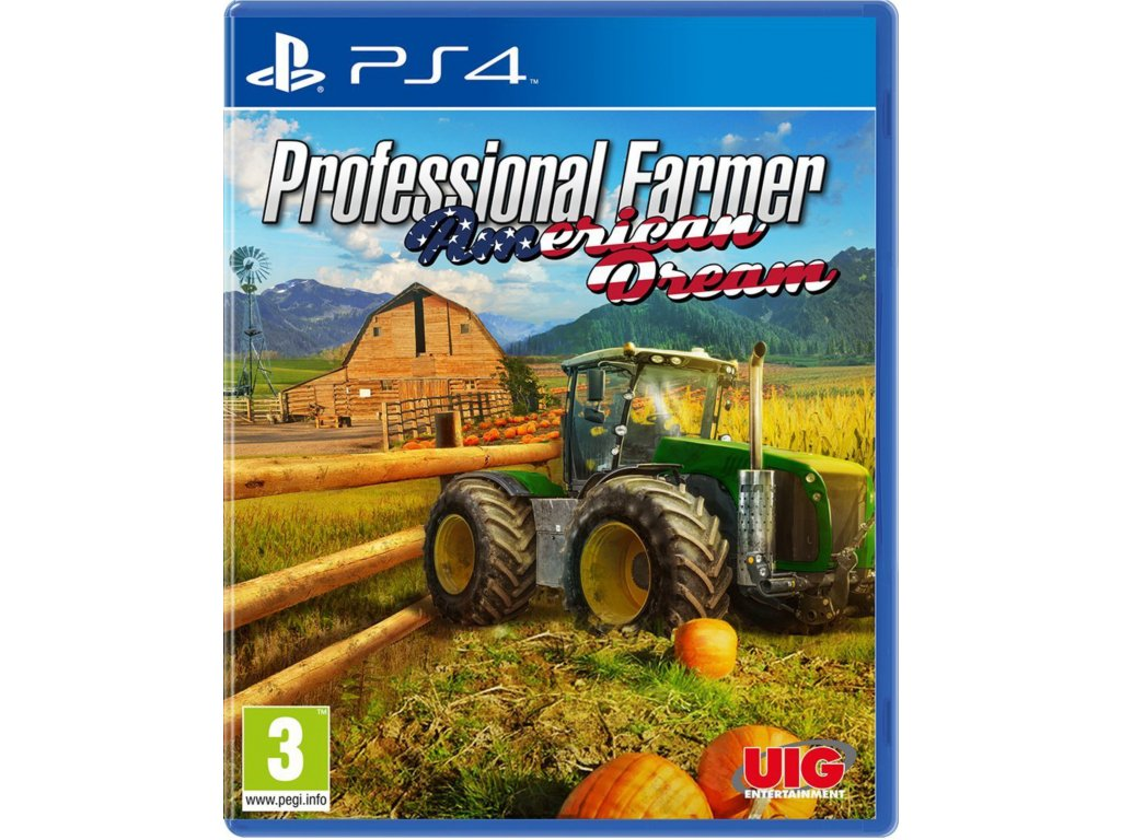 PS4 Professional Farmer 2017 American Dream PS4