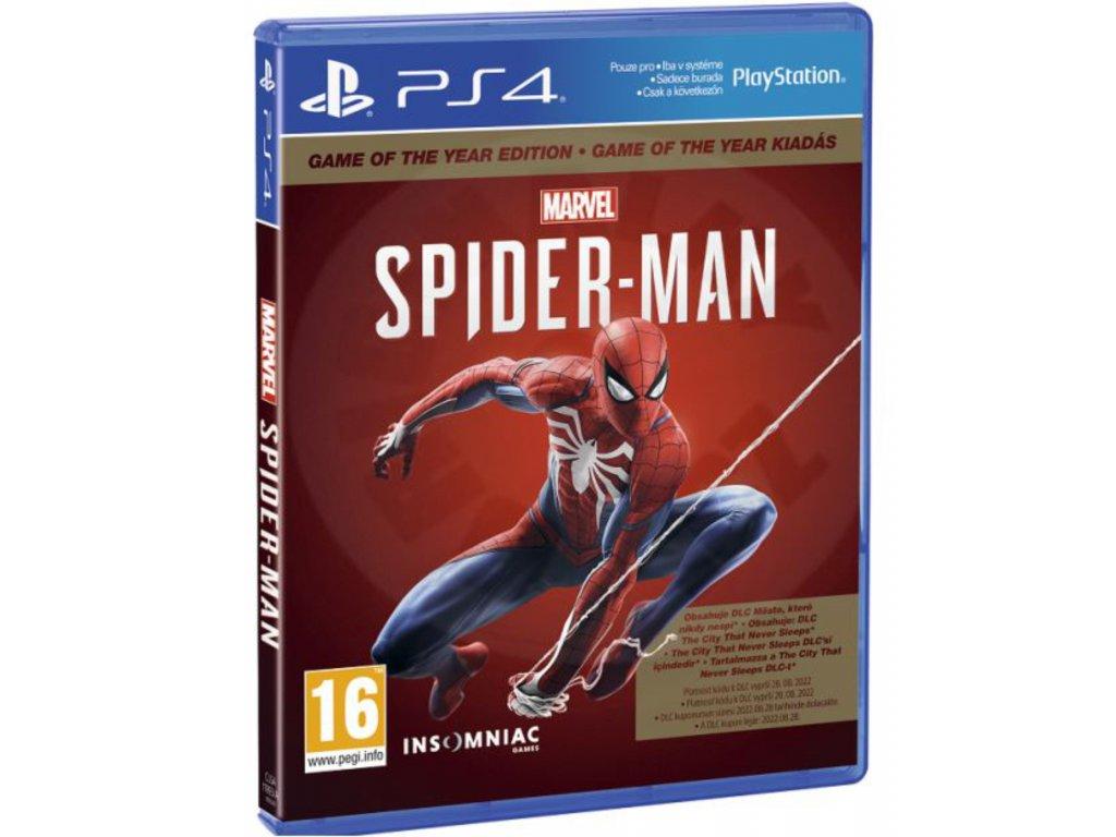 PS4 Marvel's Spider Man GOTY