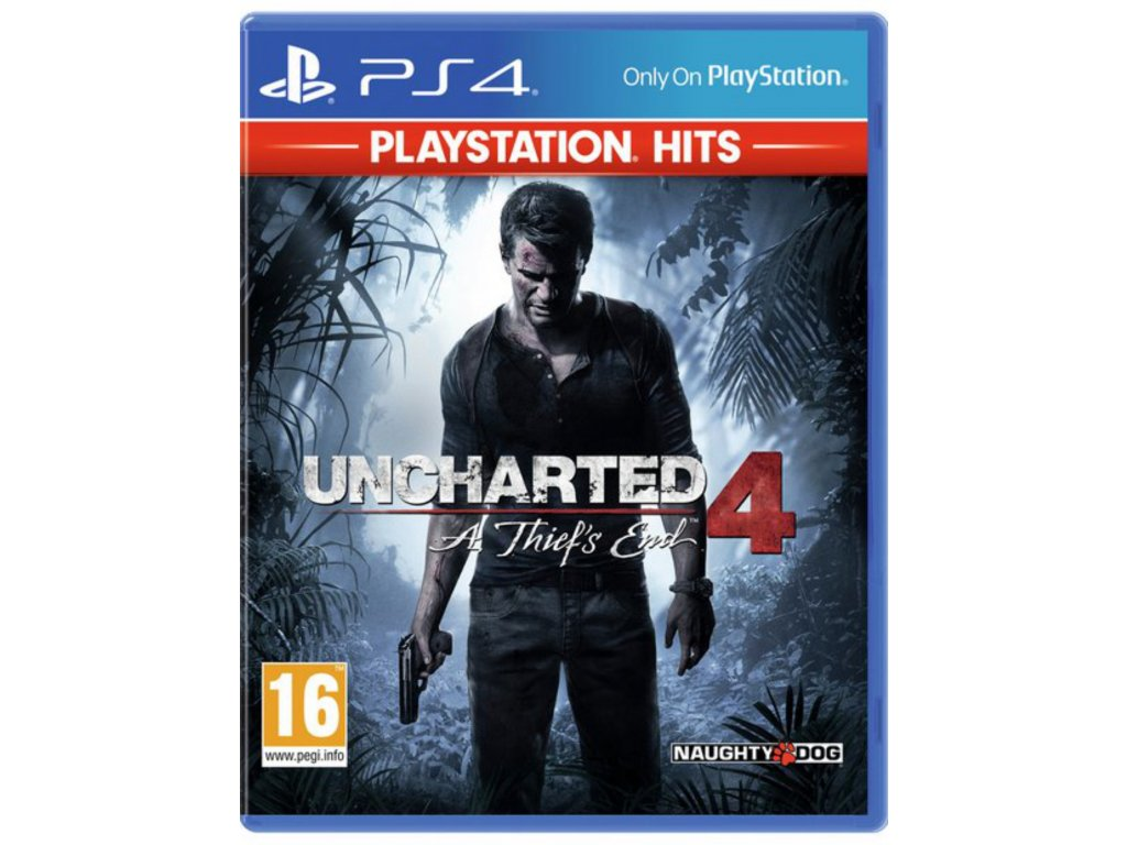 PS4 Uncharted 4: A Thiefs End CZ