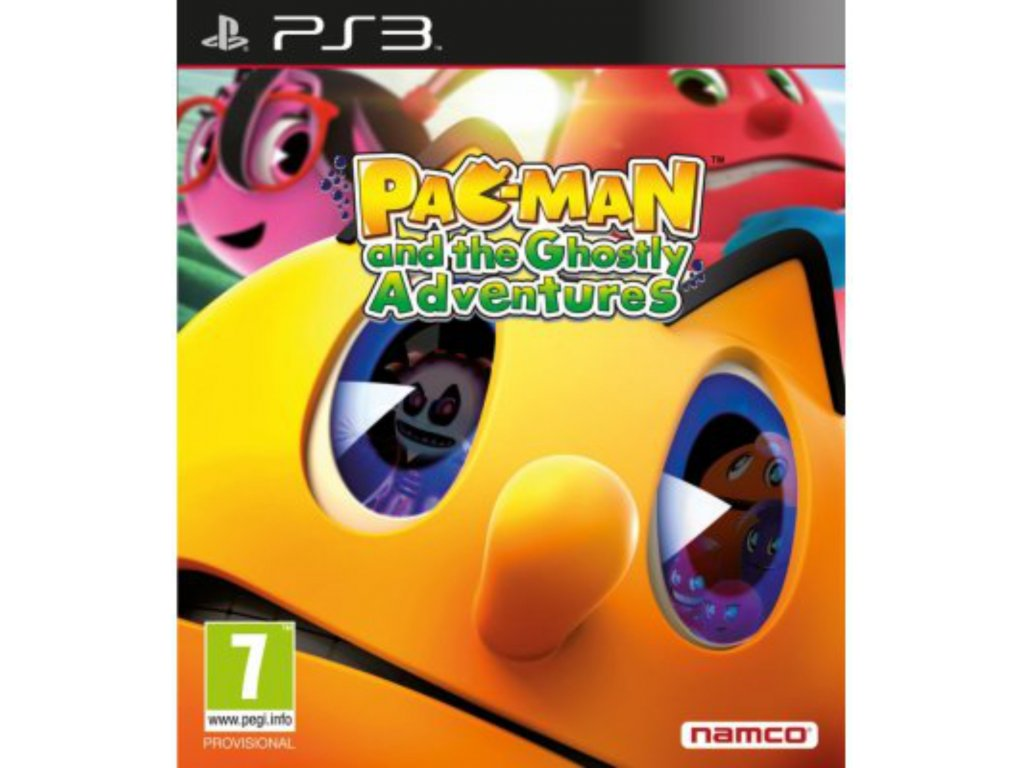PS3 PAC MAN and the Ghostly Adventures