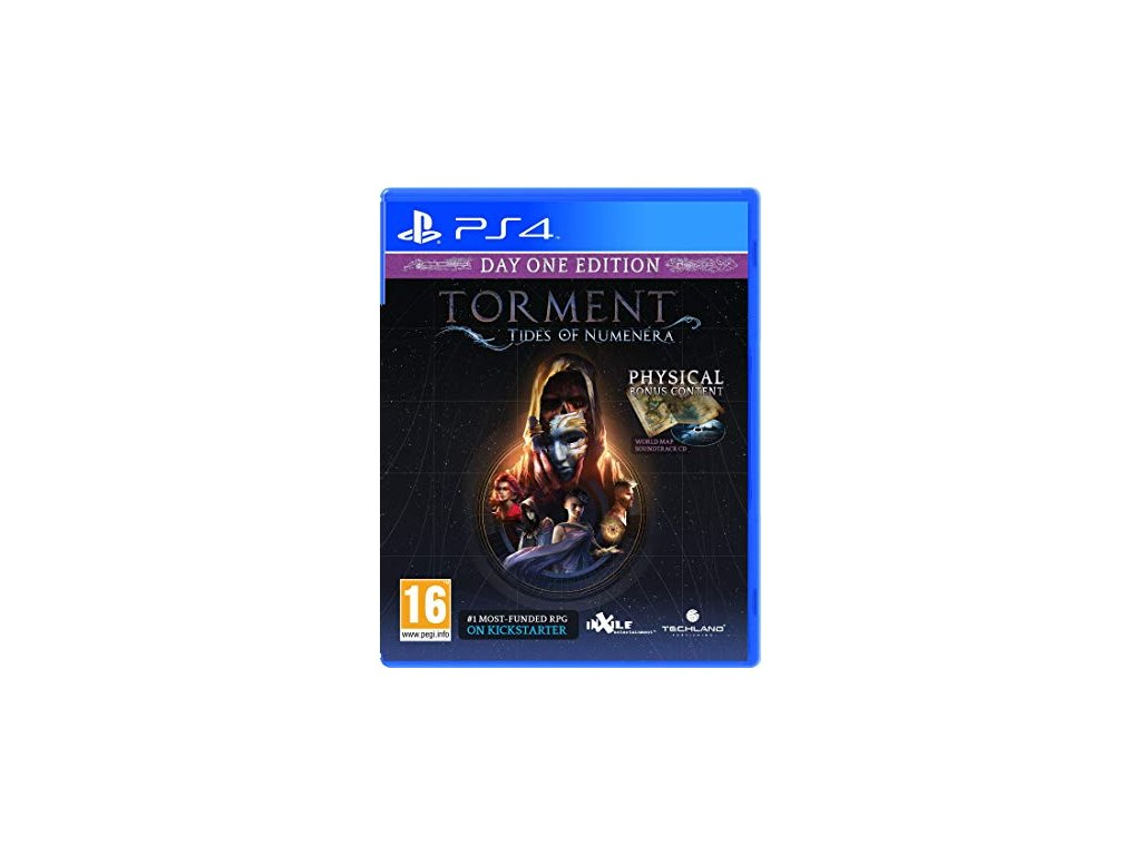 PS4 Torment: Tides of Numenera