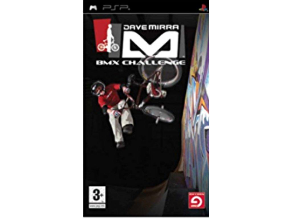 PSP Dave Mirra Bmx Challenge