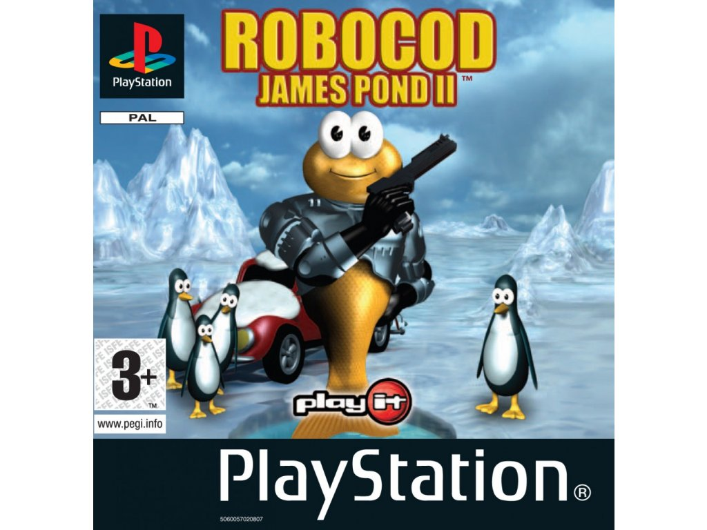 James Pond 2 Codename RoboCod