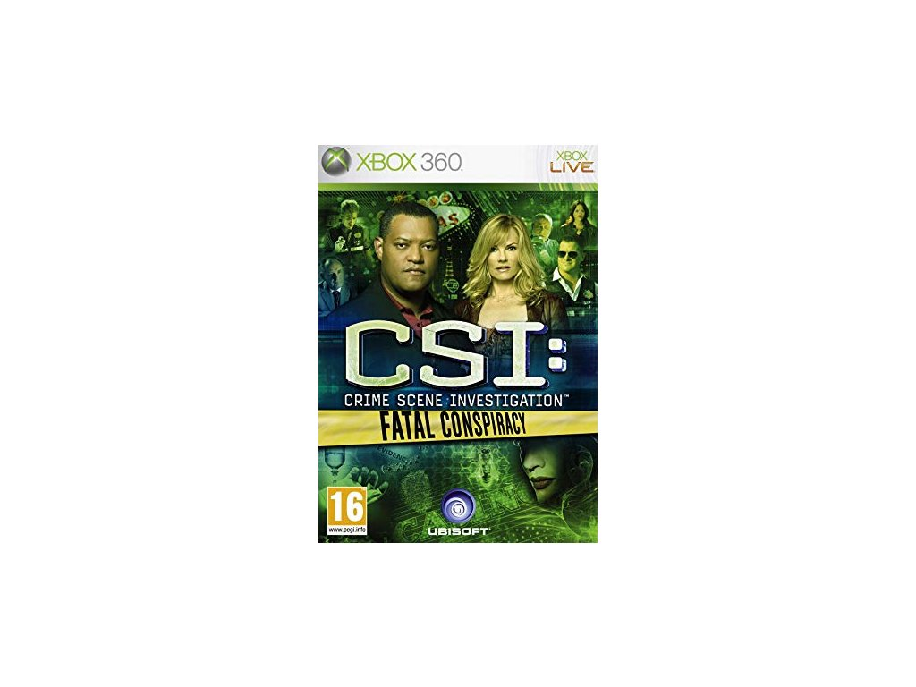 XBOX 360 CSI: Fatal Conspiracy