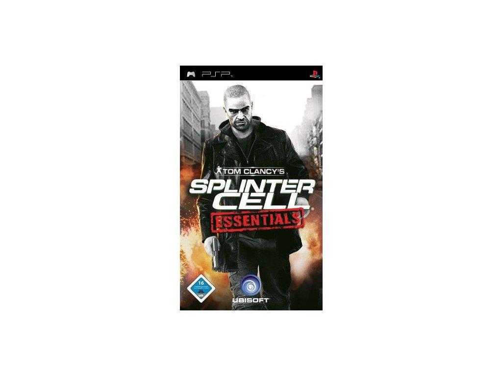 PSP Tom Clancys Splinter Cell Essentials