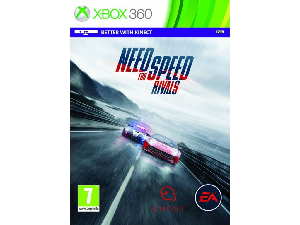 XBOX 360 Need for Speed Rivals