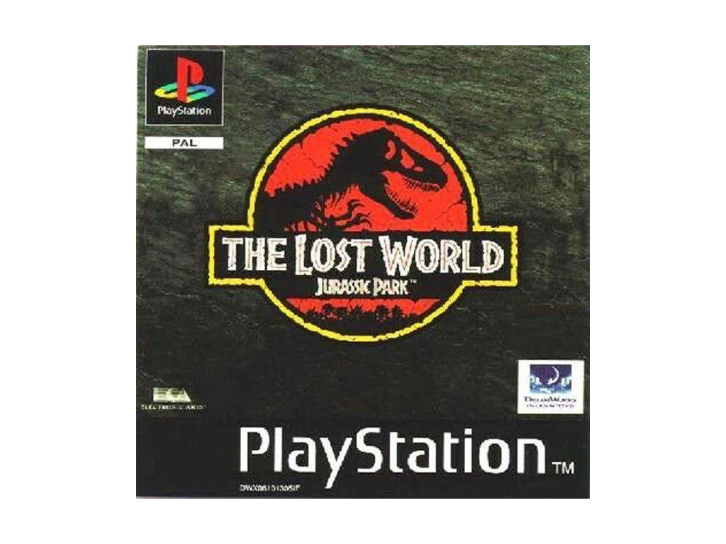 PS1 The Lost World: Jurassic Park