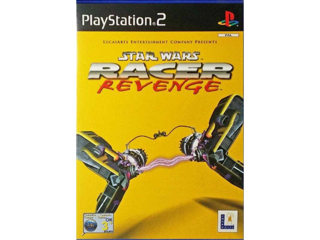 PS2 Star Wars Racer Revenge