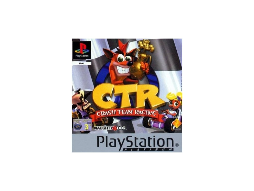 PS1 Crash Team Racing Platinum