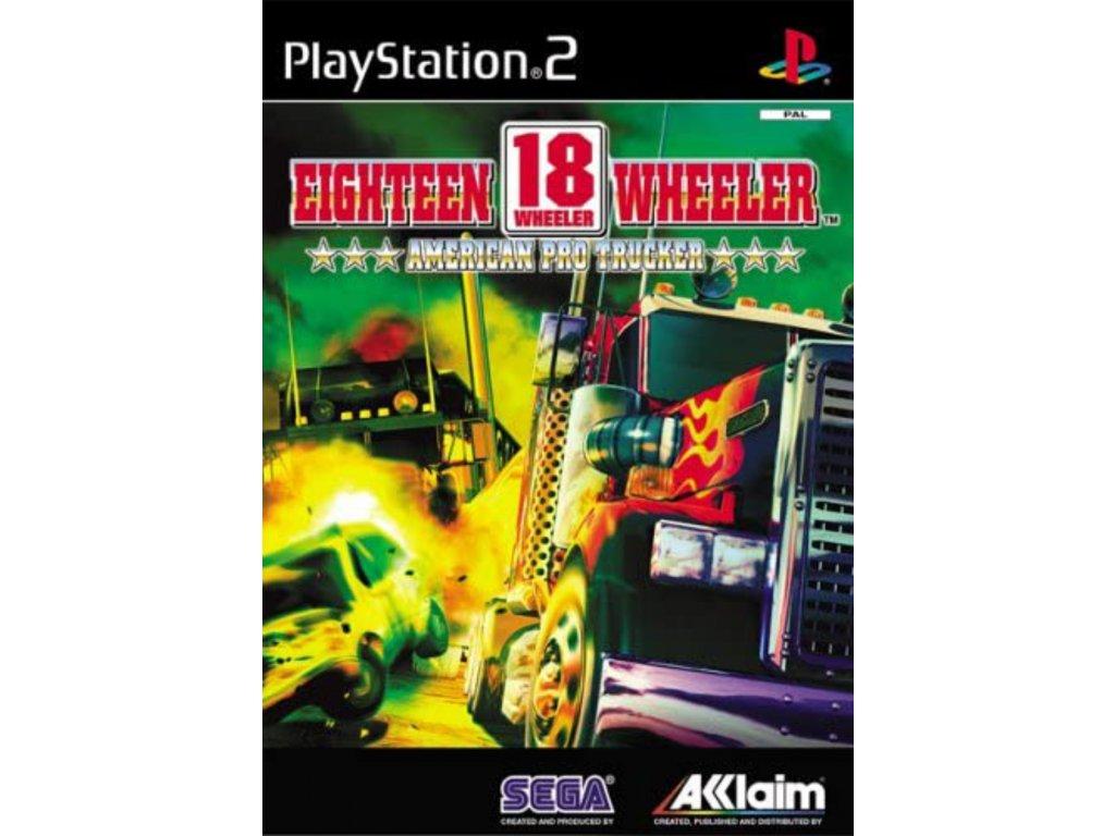 PS2 18 Wheeler American Pro Trucker
