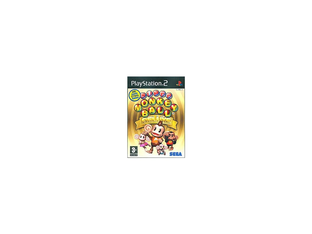 ps2 super monkey ball deluxe