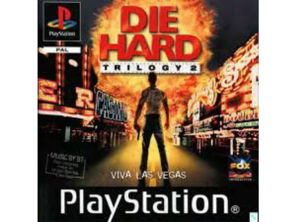 PS1 Die Hard Trilogy 2 Viva Las Vegas