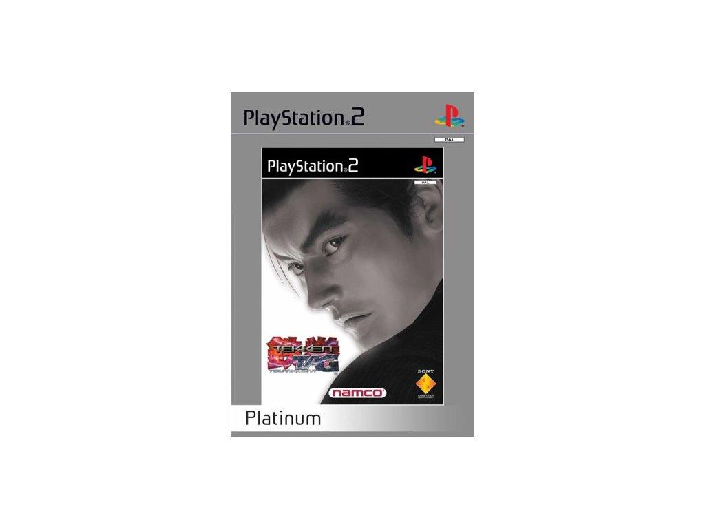 PS2 Tekken Tag Tournament Platinum