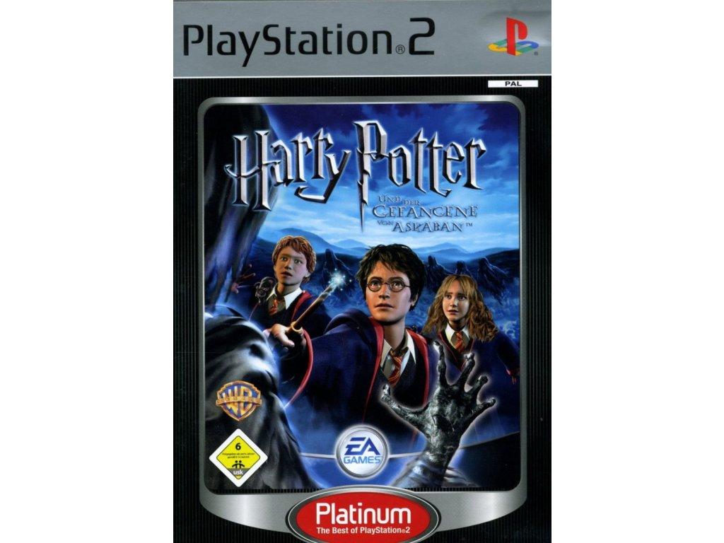 PS2 Harry Potter A Vězeň Z Azkabanu Platinum