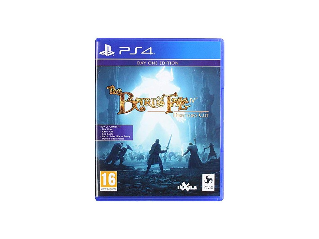 The Bards Tale IV Day One Edition PS4