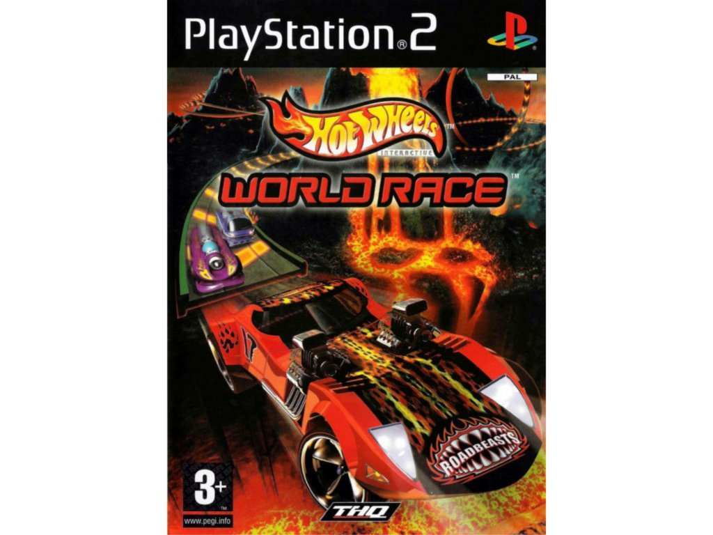 PS2 Hot Wheel World Race