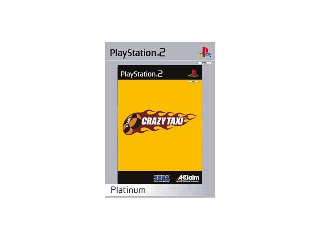 PS2 Crazy Taxi Platinum