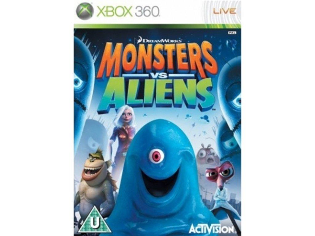 XBOX 360 monsters vs alienss