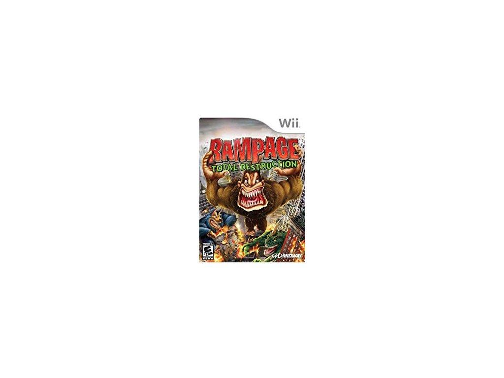Rampage Total Destruction (Wii) amazon