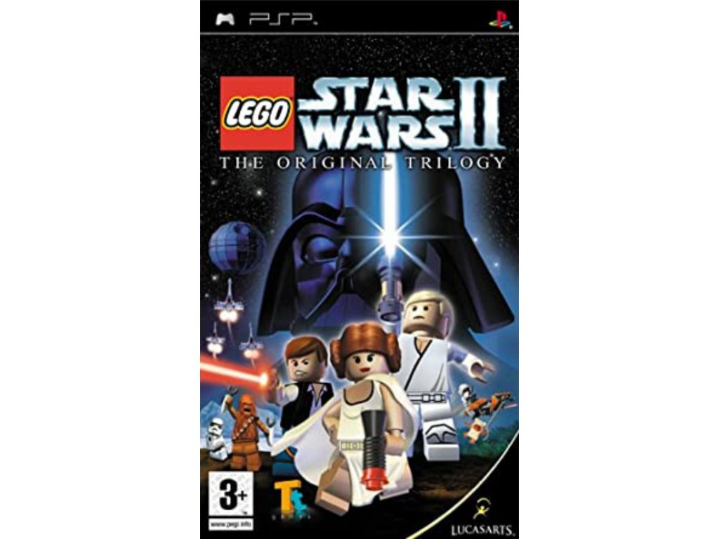 PSP Lego Star Wars 2 original trilogy
