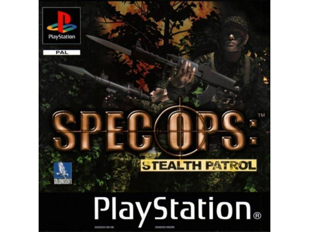 ps1 Spec Ops Stealth Patrol