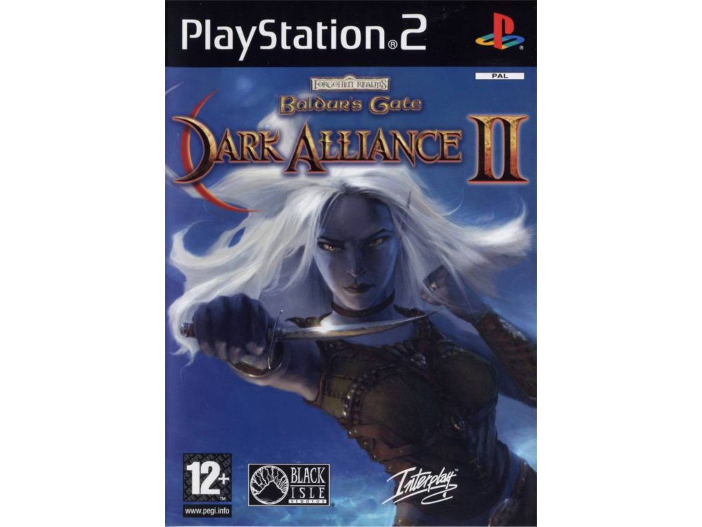 PS2 Baldur's Gate Dark Alliance II