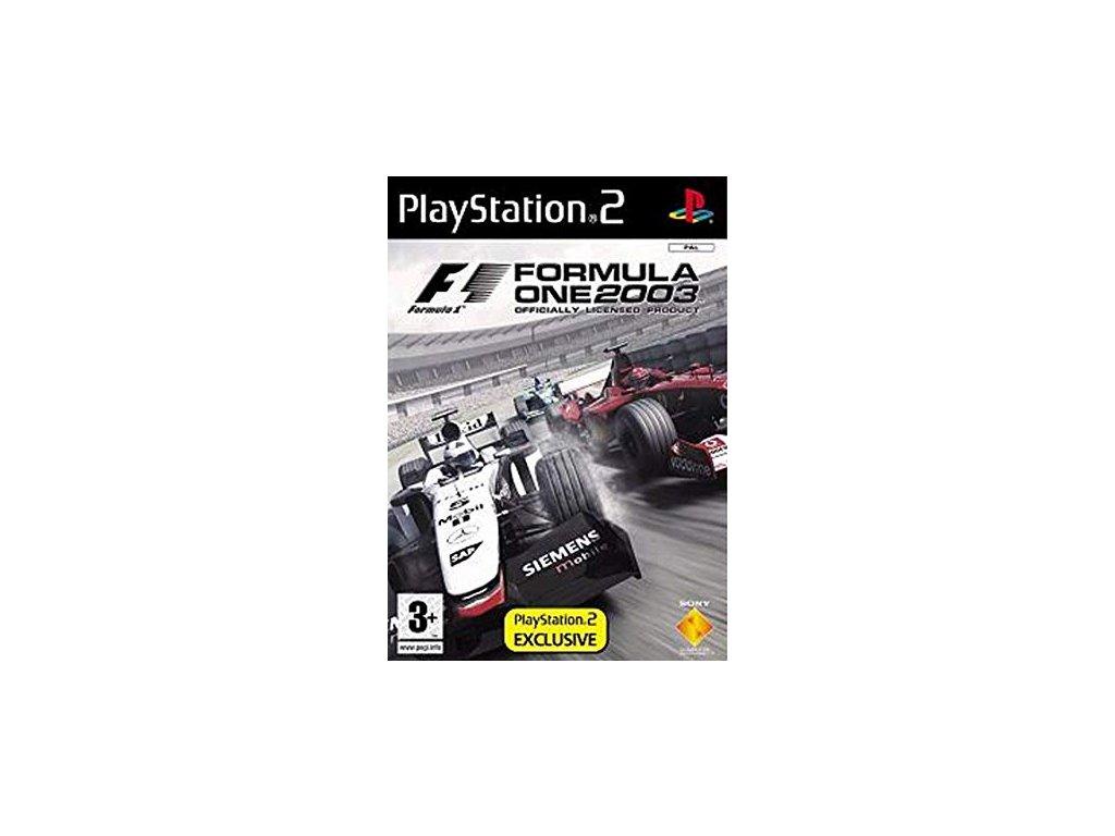 ps2 formula one 2003