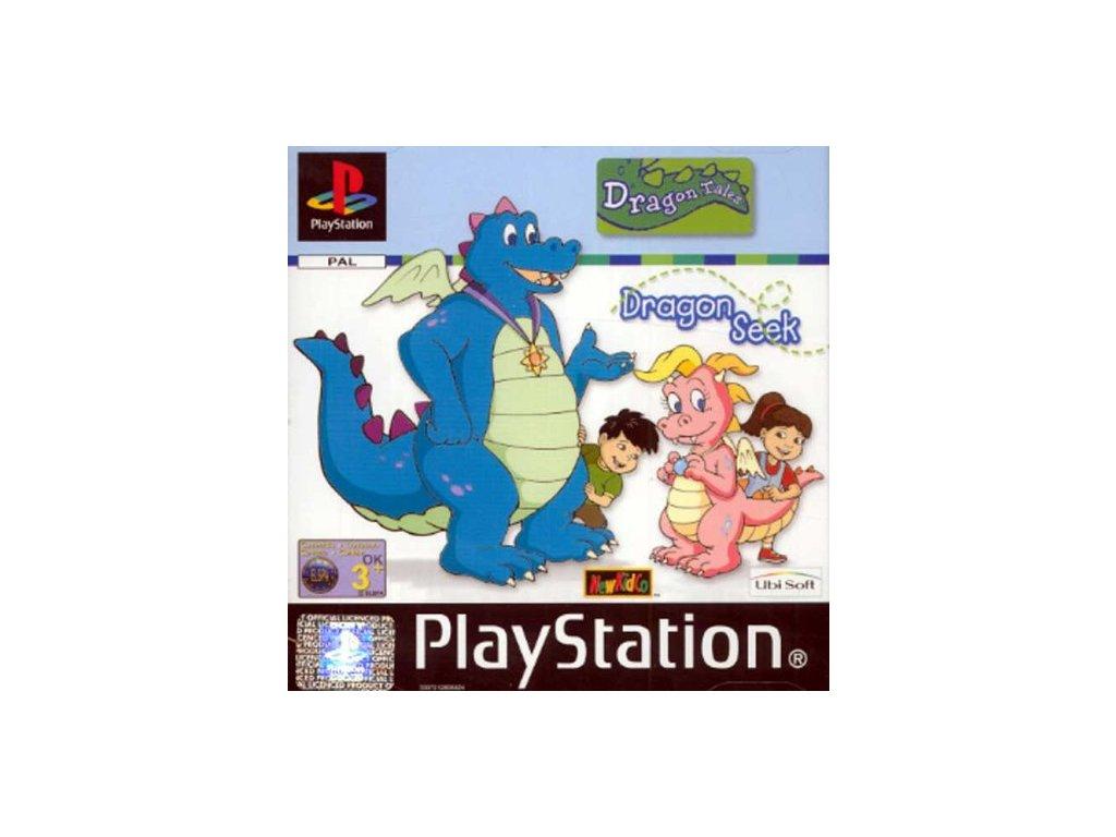 PS1 Dragon Tales Dragon Seek