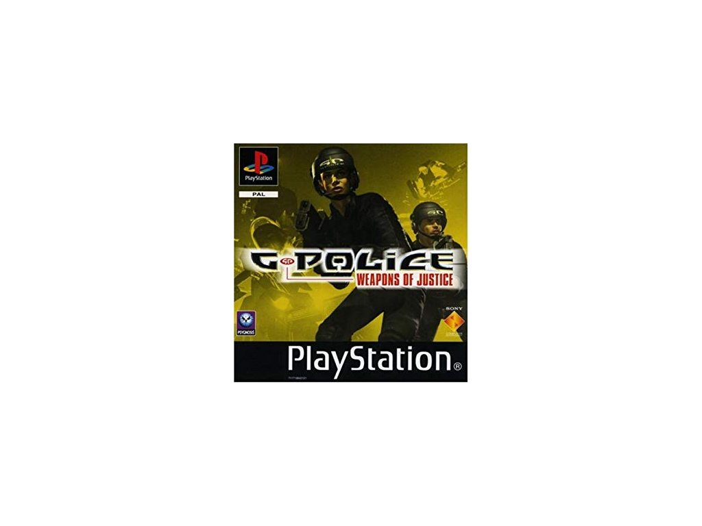 PS1 G-Police: Weapons of Justice