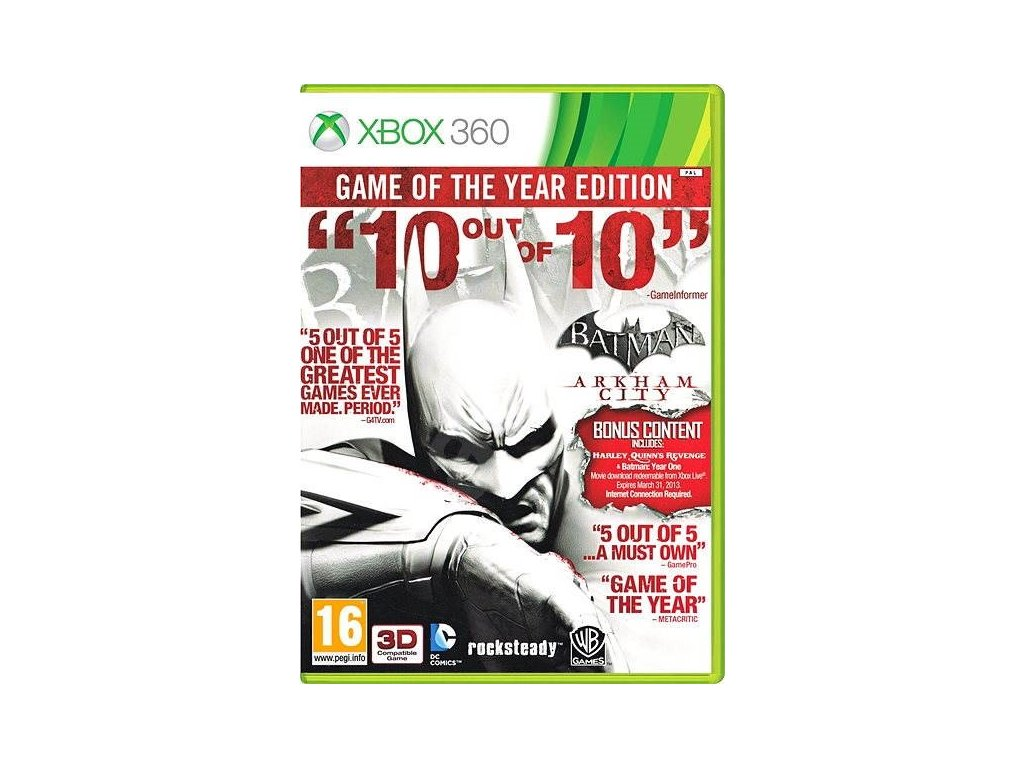XBOX 360 Batman: Arkham City GOTY