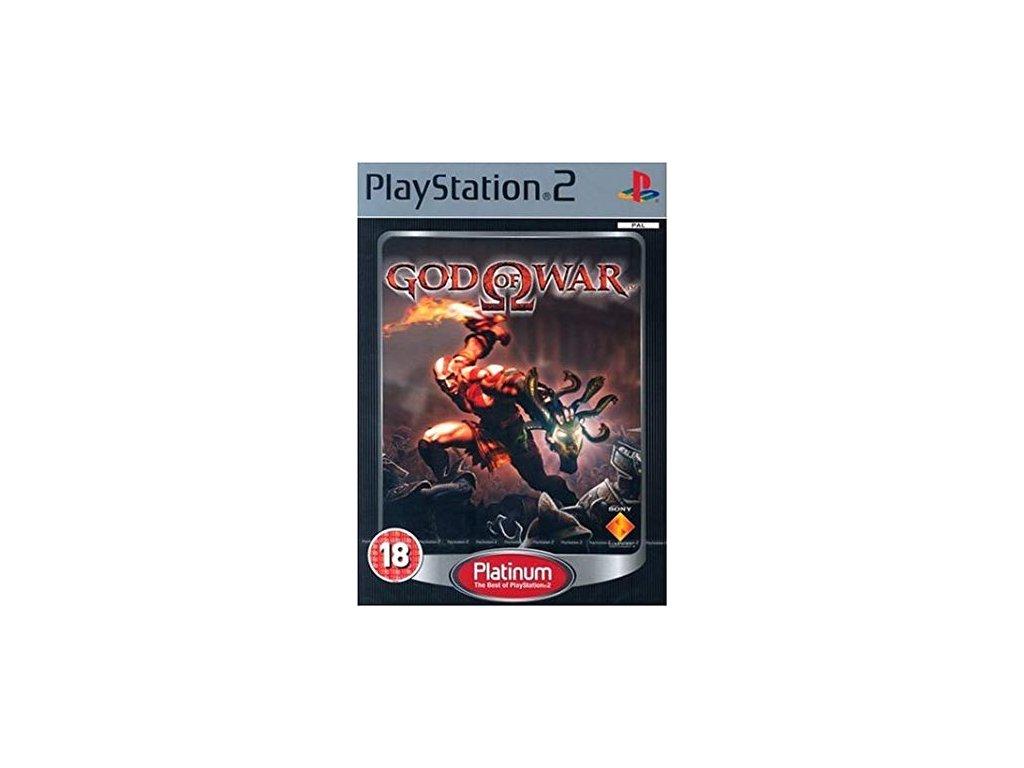 PS2 God of War PLATINUM