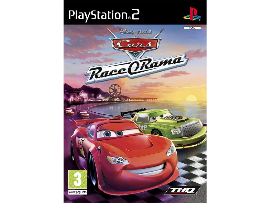 PS2 Cars Race O Rama