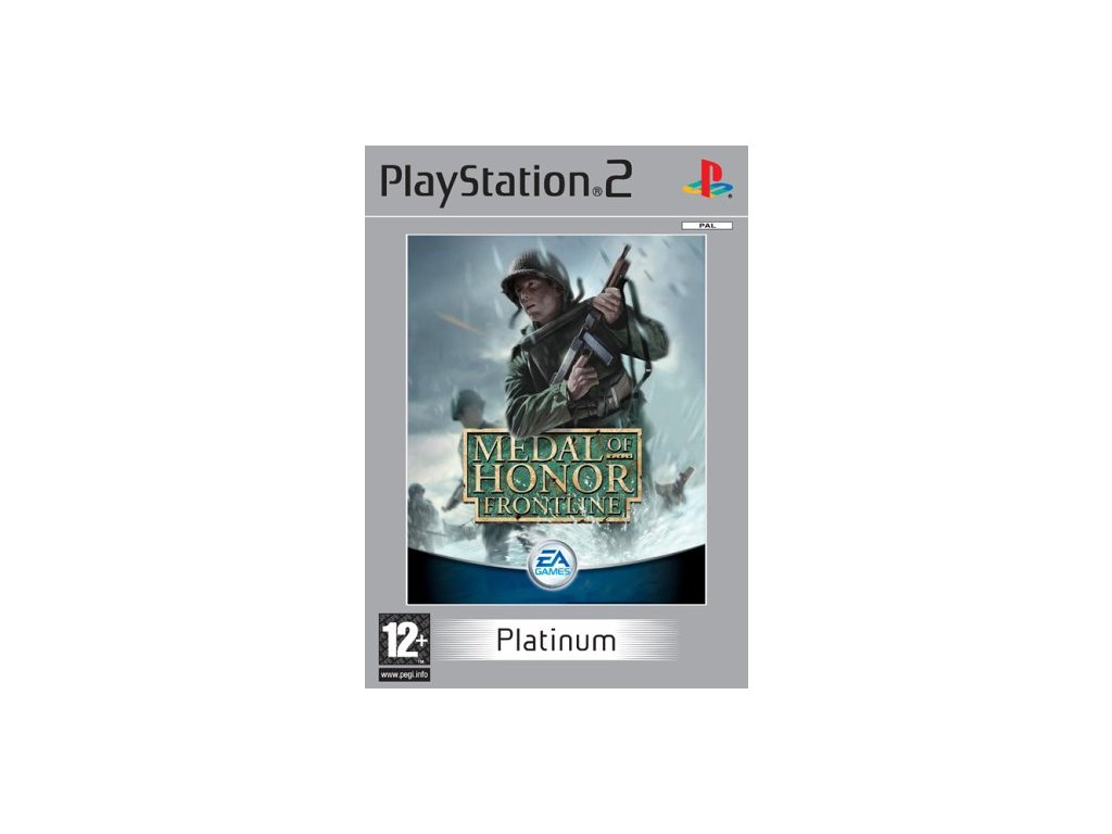 PS2 MEDAL OF HONOR FRONTLINE PLATINUM