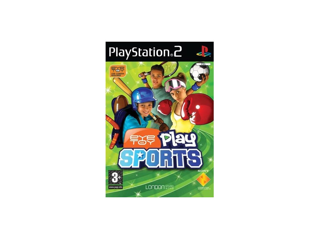 ps2 eye toy sports