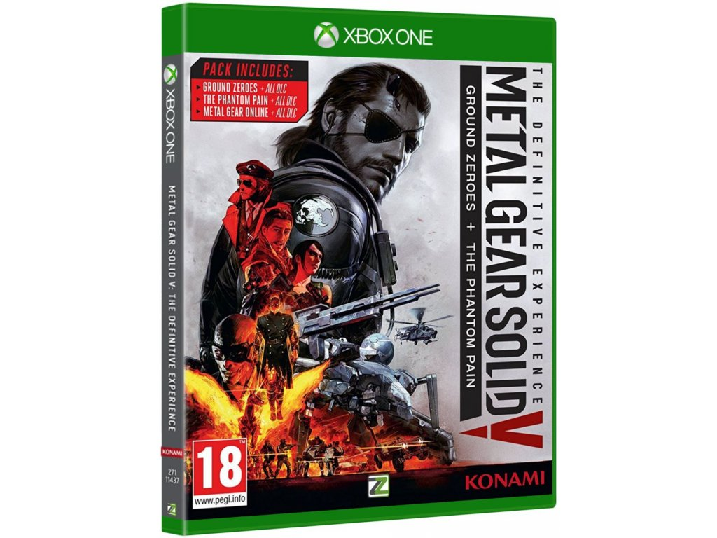xbox one metal gears solid V