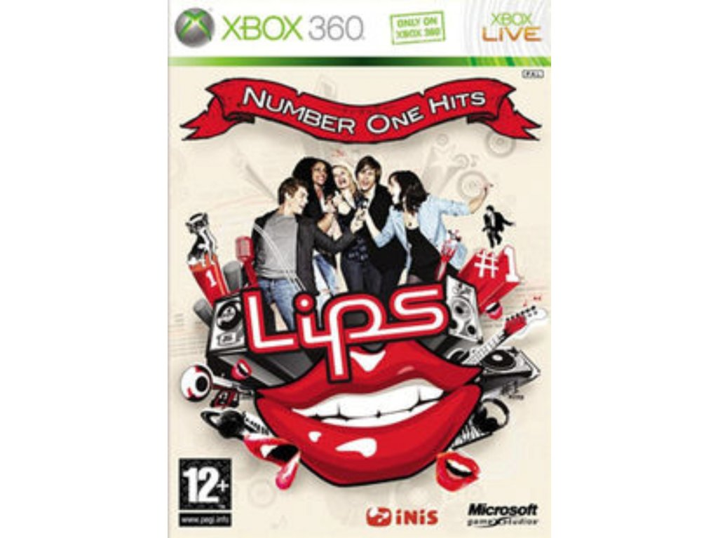 XBOX 360 Lips Number One Hits
