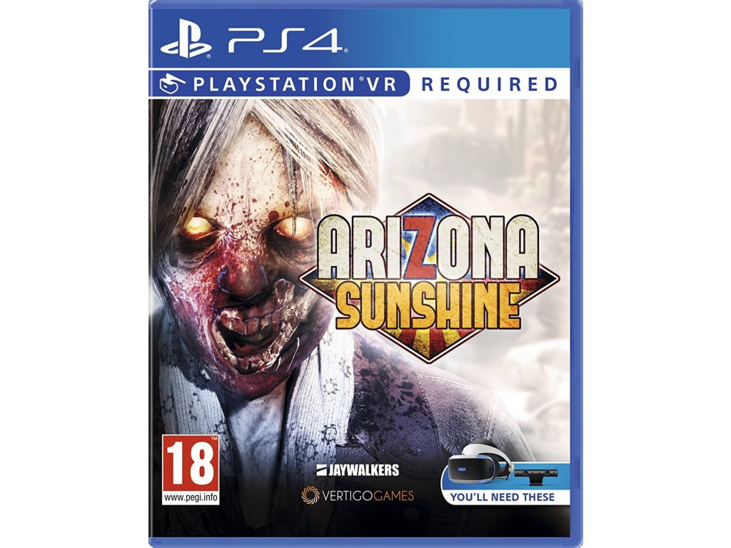 PS4 Arizona Sunshine