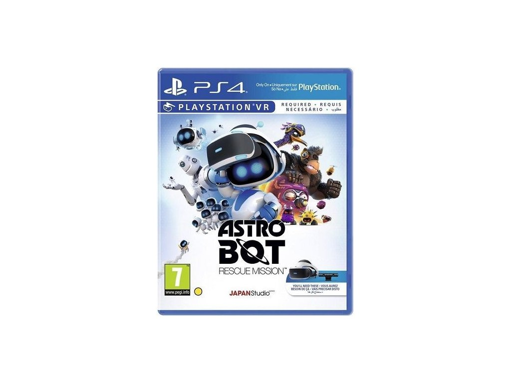 PS4 Astro Bot: Rescue Mission